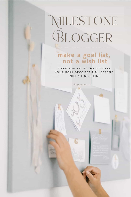 Milestone Blogger Blogger Nomad