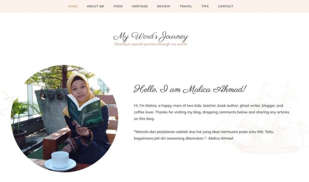 Blog Malica Ahmad