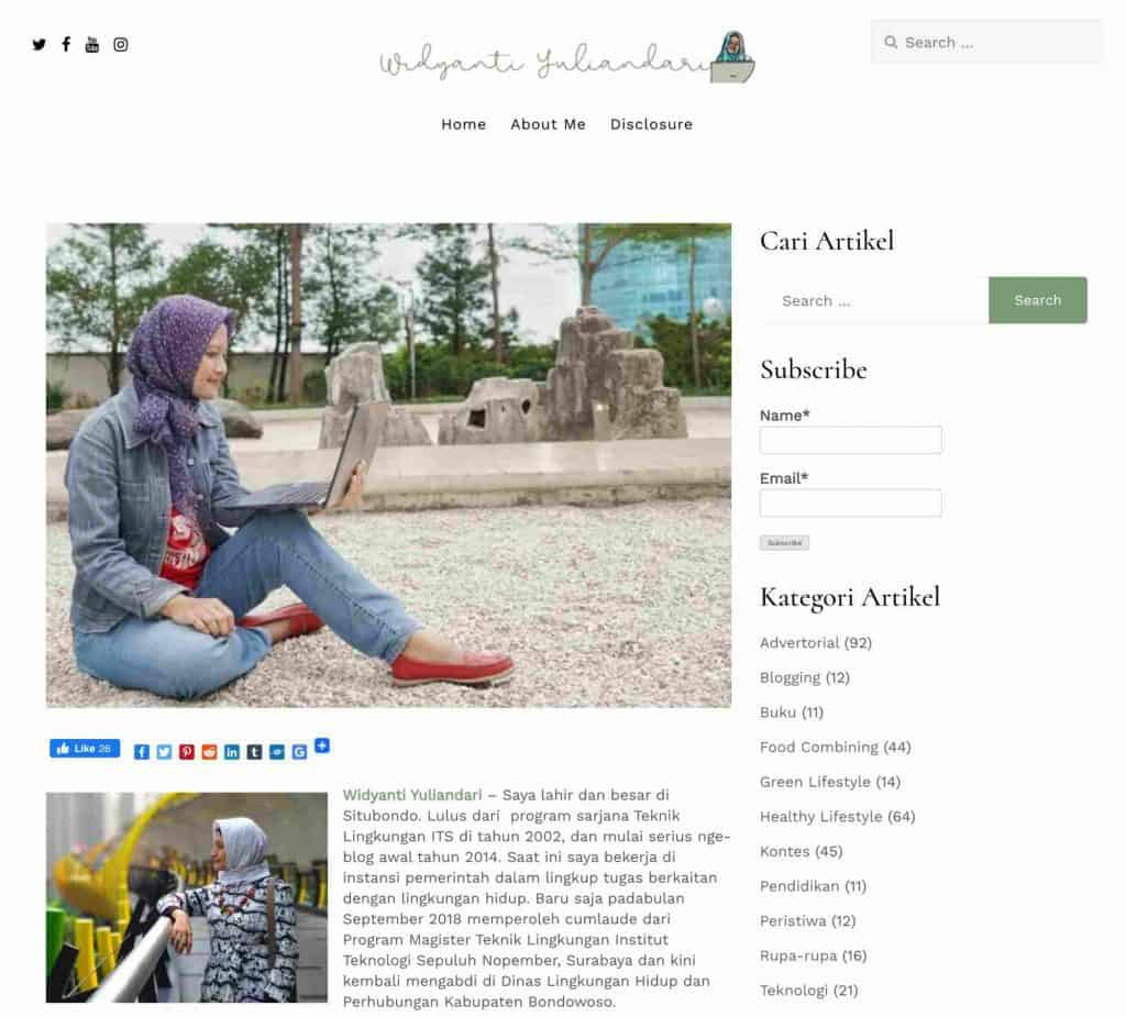 Blog Widyanti Yuliandari