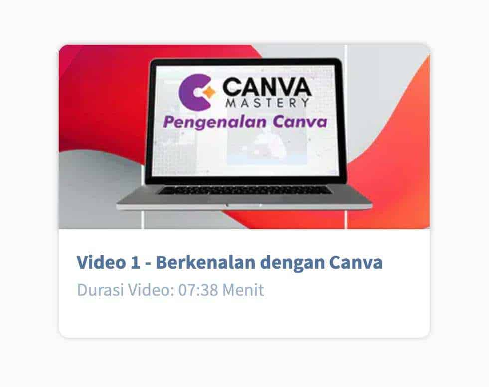 modul 1 canva mastery