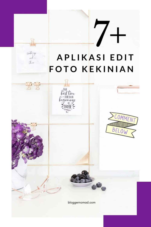 Aplikasi Edit Foto Kekinian