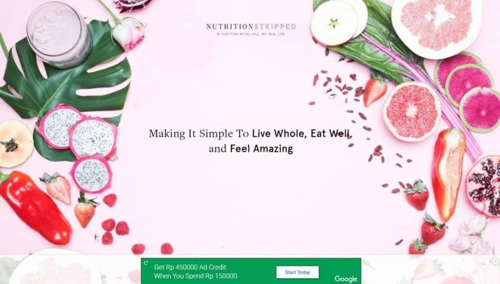 Contoh Blog Ibu Rumah Tangga Sukses Nutrition Stripped