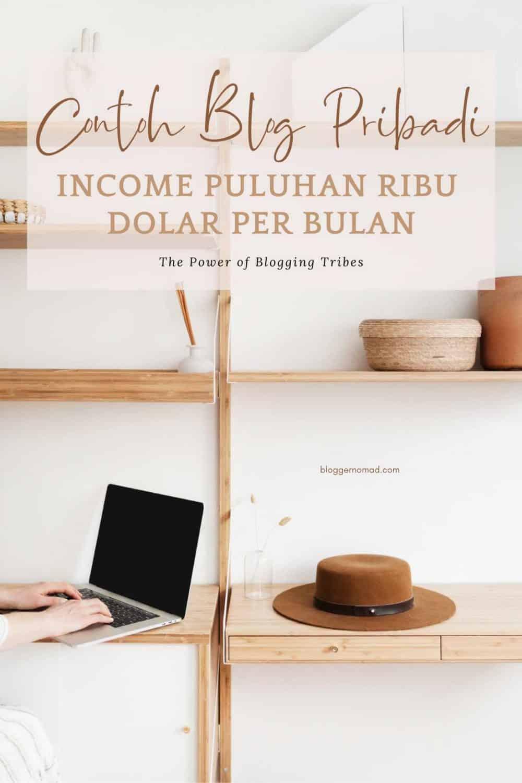 Contoh Blog Pribadi Penghasilan Puluhan Ribu Dolar per Bulan